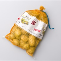 potatoes - knitted net bag