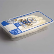 aspargus - plastci tray with topseal